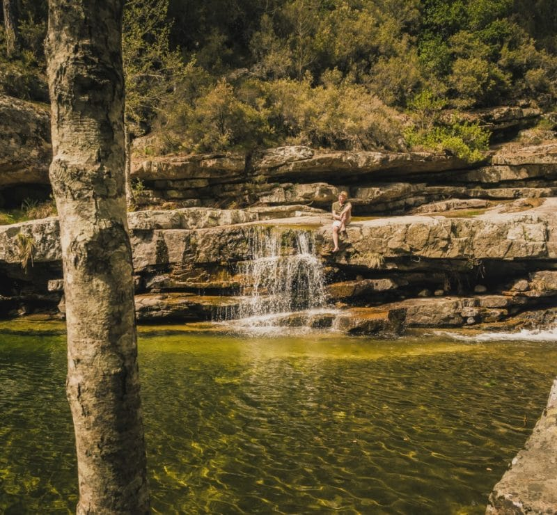 piscines naturelles forêt Aïtone